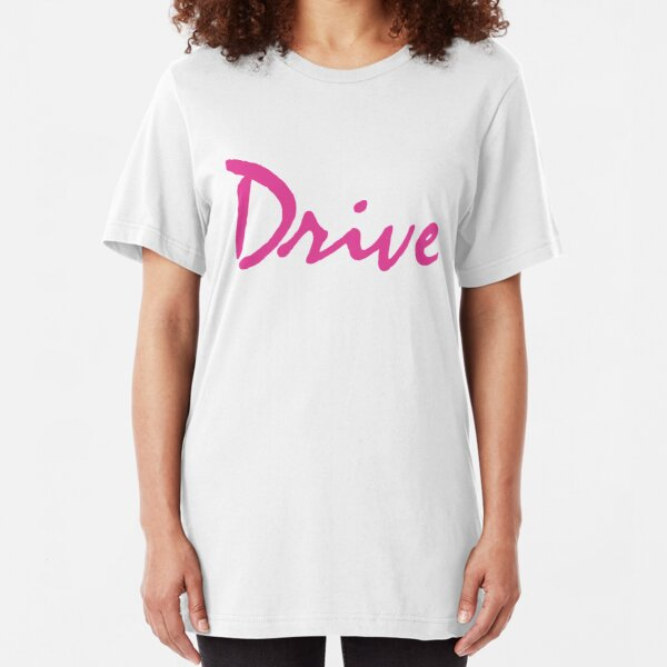 DRIVE Logo Slim Fit T-Shirt