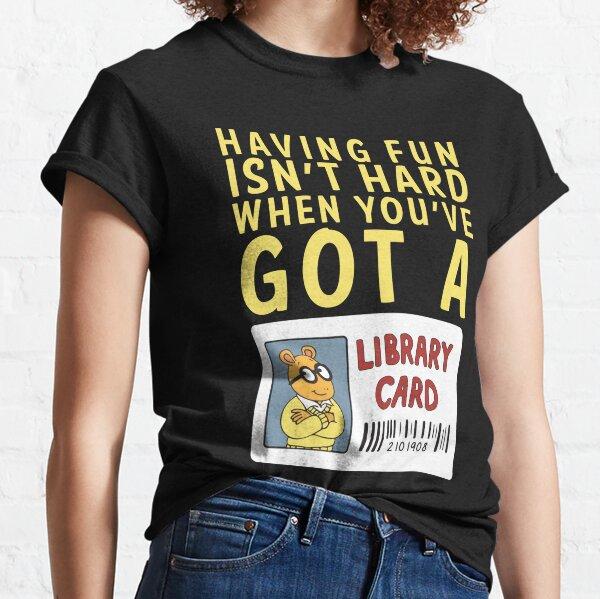 Arthur Library Card Classic T-Shirt