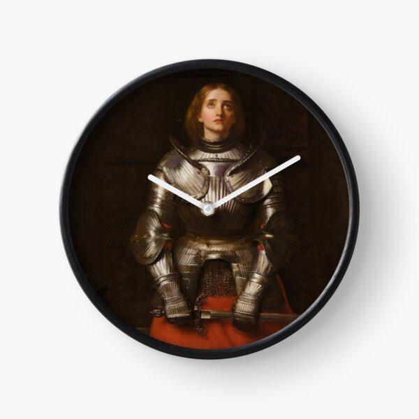 Jeanne d'Arc - John Everett Millais - 1865 Horloge
