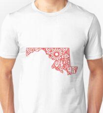Maryland Mandala Unisex T-Shirt
