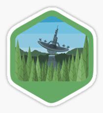 Star Wars Original Emblem Set - V8 - Endor Sticker