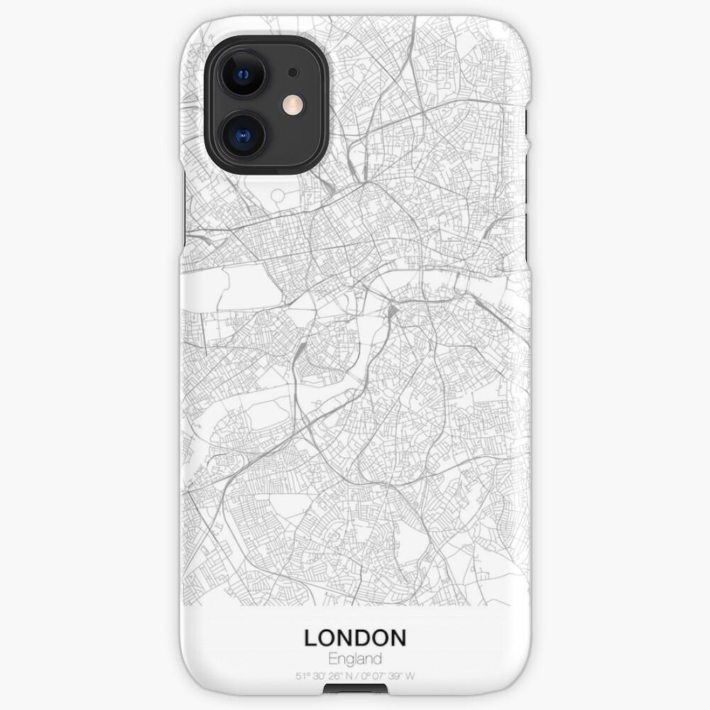 Cartel Londres Inglaterra Minimalista Mapa decoraci/ón City Map regalo