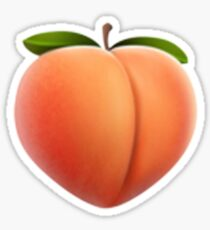 peachy Sticker