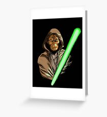 Star Wars of the Planet of the Apes Greeting Card