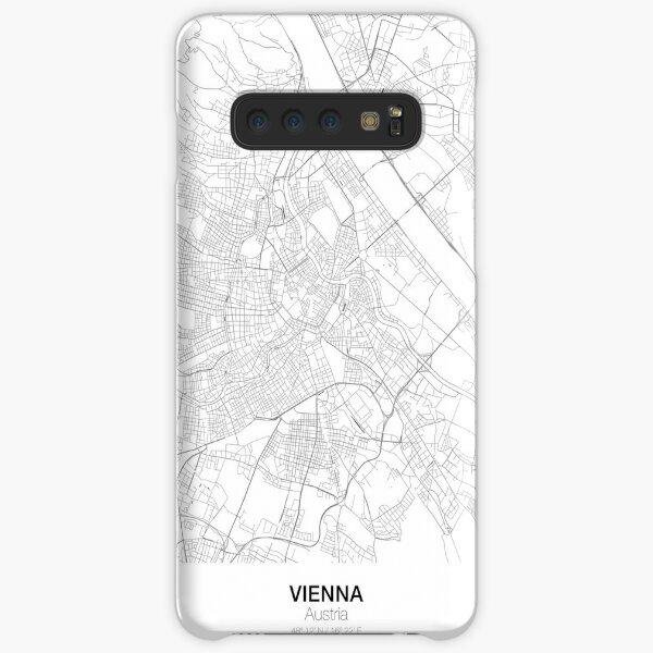 Wien minimalistische Karte Samsung Galaxy Leichte Hülle