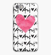 Sarang Love Heart Pink - Korean iPhone Case/Skin