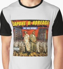 Capone and Noreaga The War Report Cover Art Supreme Graphic T-Shirt