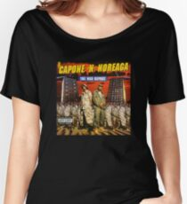 Capone and Noreaga The War Report Cover Art Supreme Women's Relaxed Fit T-Shirt