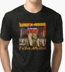 Capone and Noreaga The War Report Cover Art Supreme Tri-blend T-Shirt