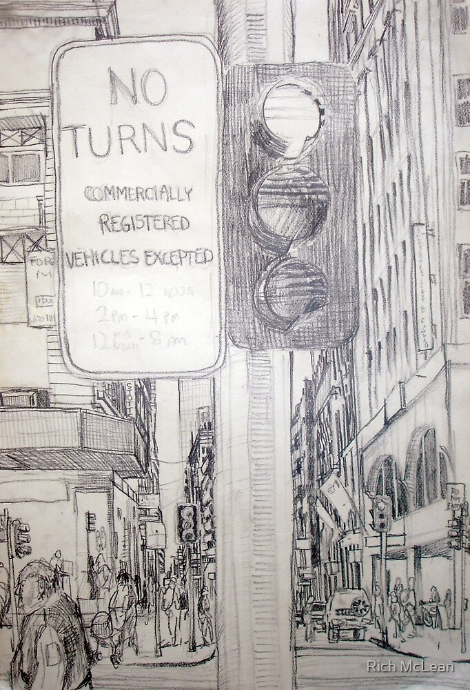No Turns (Emotional Blockage) by Rich McLean