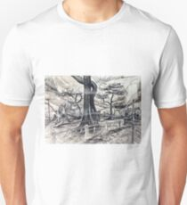 Unsettling, Windy Day at Mordialloc Foreshore Unisex T-Shirt
