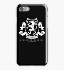 Asking Alexandria Family logo tshirt and hoodie iPhone Case/Skin