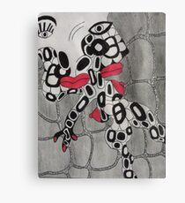 Chickalips Canvas Print