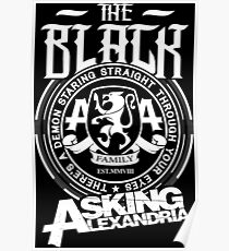 Asking Alexandria  the black album tshirts and hoodies Poster