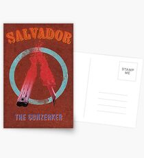 Salvador Vintage Borderlands Graphic Postcards
