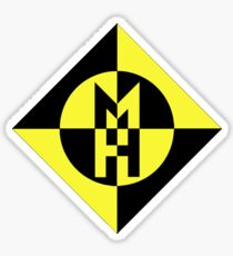 machine head heavy metal Sticker