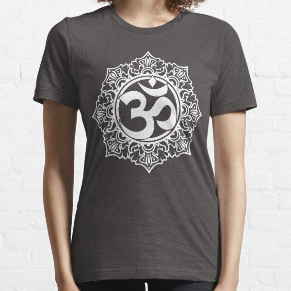 Ohm Symbol Meditation Symbol  Essential T-Shirt