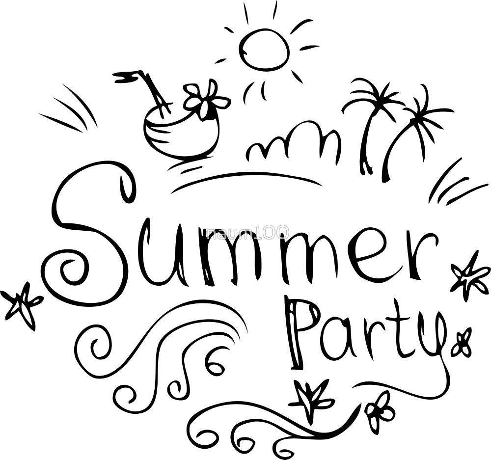 Summer design elements or typography design. by naum100