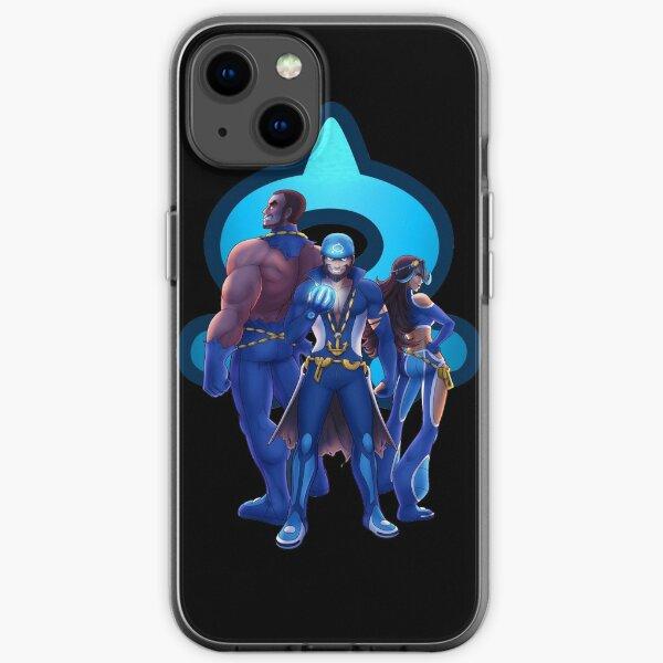 Team Aqua iPhone Soft Case