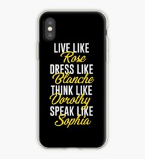 Be Golden iPhone Case