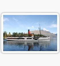 New Zealand Steamship Sticker