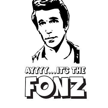 The Fonz - AAAYYYY - Happy Days by lcfcworld