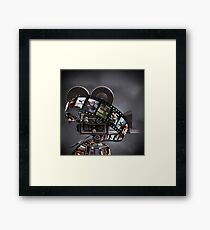 Critically Acclaimed Film Strip Framed Print
