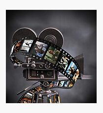 Critically Acclaimed Film Strip Photographic Print