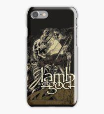 Lamb of God metal iPhone Case/Skin
