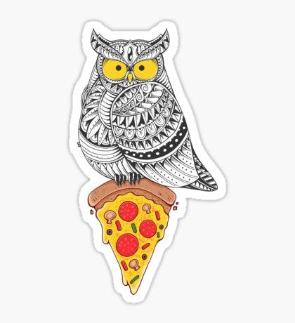 Midnight Snack Sticker