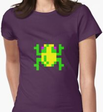 Frogger Womens Fitted T-Shirt
