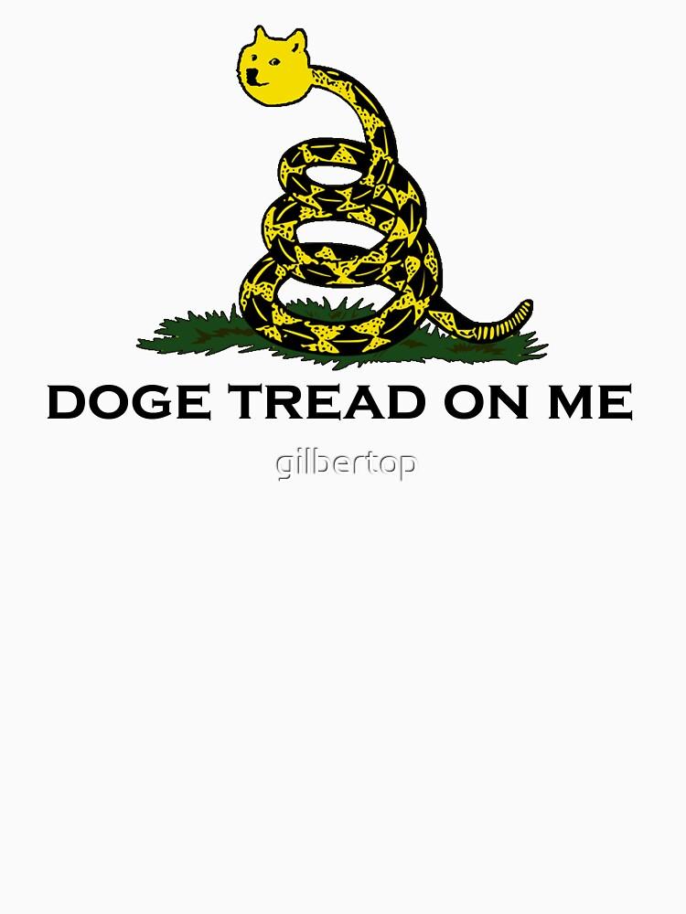 """Don't tread on me gadsden flag (doge meme)"" T-shirt by ..."
