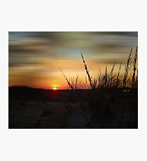 The Last Glimmer Photographic Print