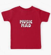 SOLD - MUSIC MAD Kids Tee