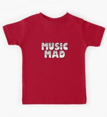 SOLD - MUSIC MAD Kids Tee