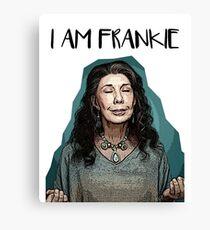 Frankie Bergstein Sticker Canvas Print