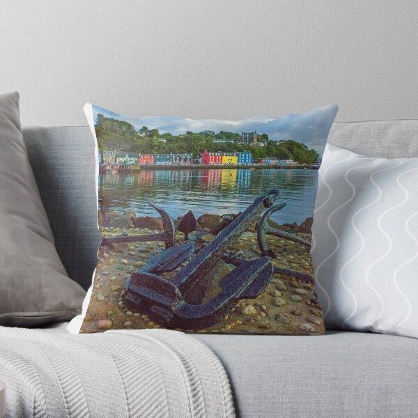 Tobermory 2 Isle of Mull Throw Pillow