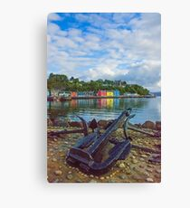 Tobermory 2 Isle of Mull Canvas Print