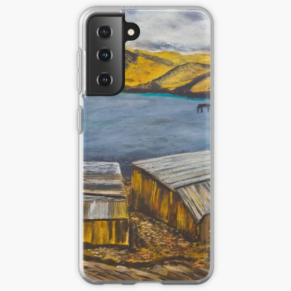 Second Valley Boat Sheds Samsung Galaxy Soft Case