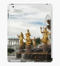 The Peoples Friendship Fountain. iPad Case/Skin