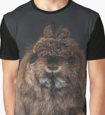 Jersey Wooly Rabbit - Chestnut agouti on black / dwarf angora fiber fuzzy fluffy arba breed show rabbit Graphic T-Shirt