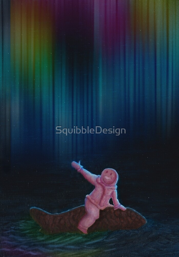 Under the Aurora Australis by SquibbleDesign