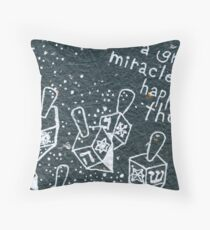 Happy Hanukkah (Dreidel) Throw Pillow