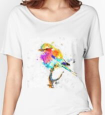 Artistic - IV - Colorful bird Women's Relaxed Fit T-Shirt