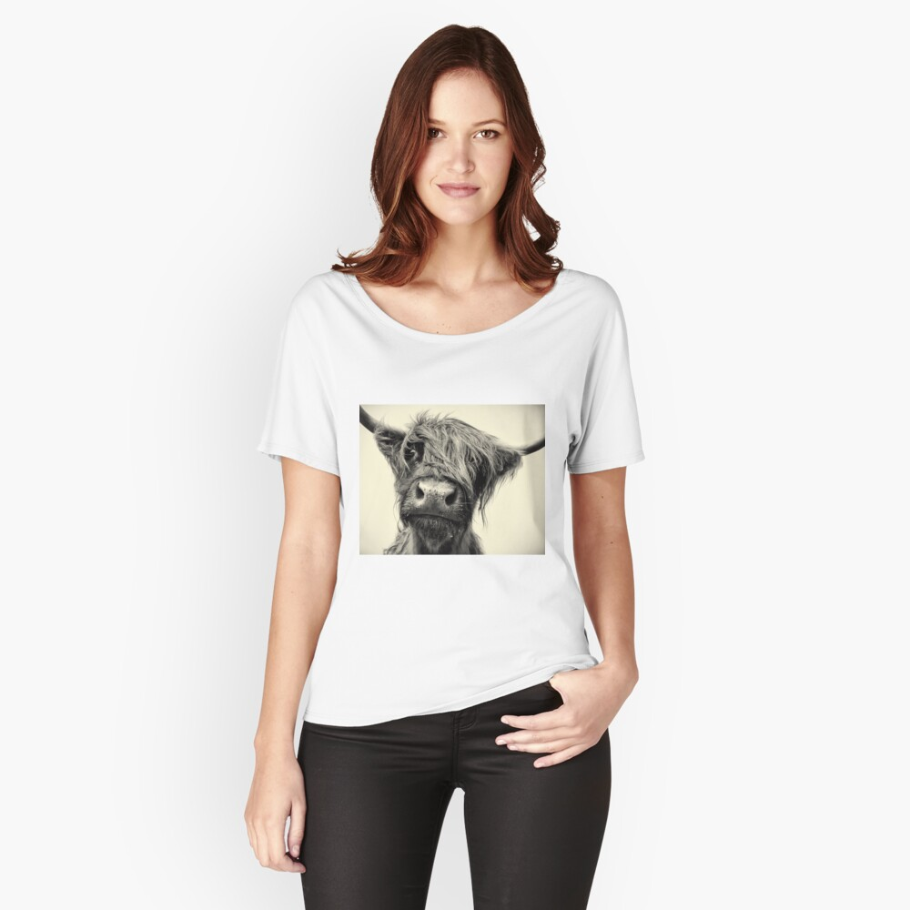 Highland Cow Relaxed Fit T-Shirt