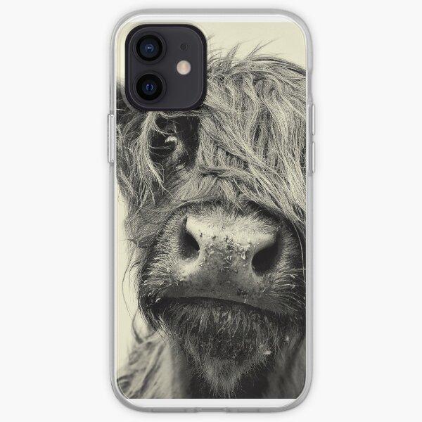 Vaca de montaña Funda blanda para iPhone