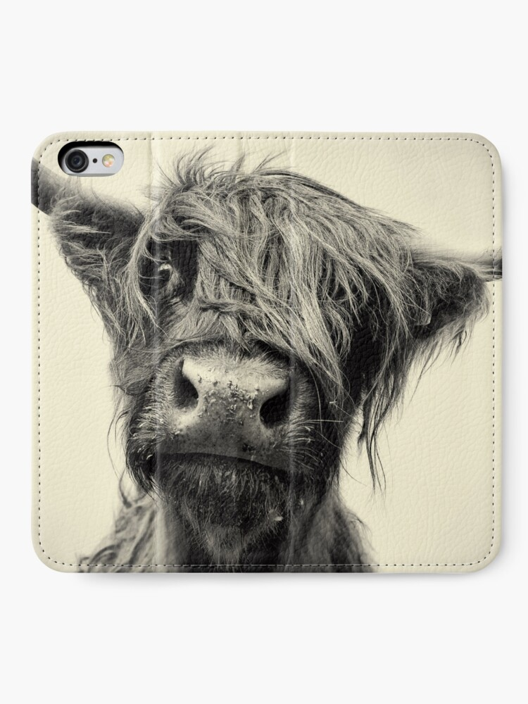 Alternate view of Highland Cow iPhone Wallet
