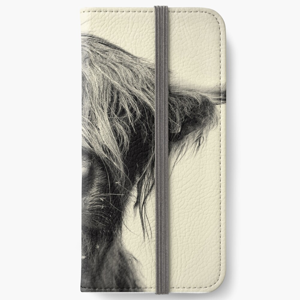 Highland Cow iPhone Wallet