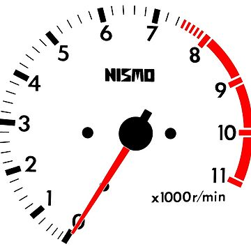 NISSAN スカイライン (NISSAN Skyline) R32 NISMO rev counter von officialgtrch