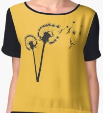 Dandylion Flight Women's Chiffon Top